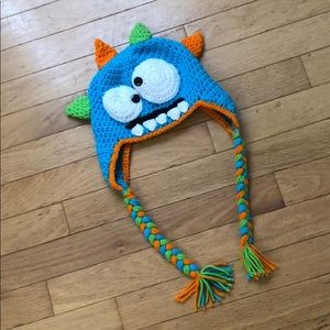 Other - Handmade Crocheted Silly Monster Hat